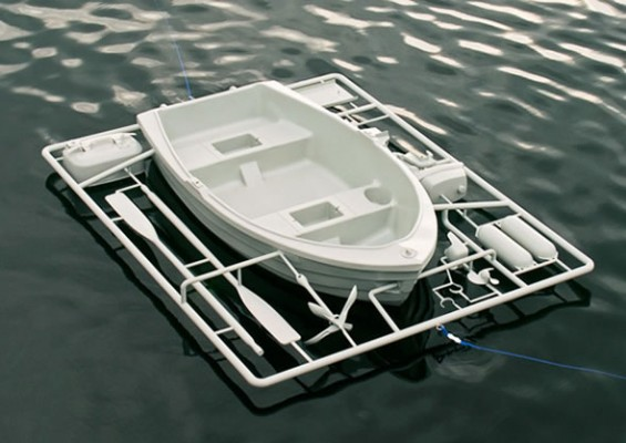 LifeSize Boat Model Kit 1 565x400 Its a toy...Its not a toy....