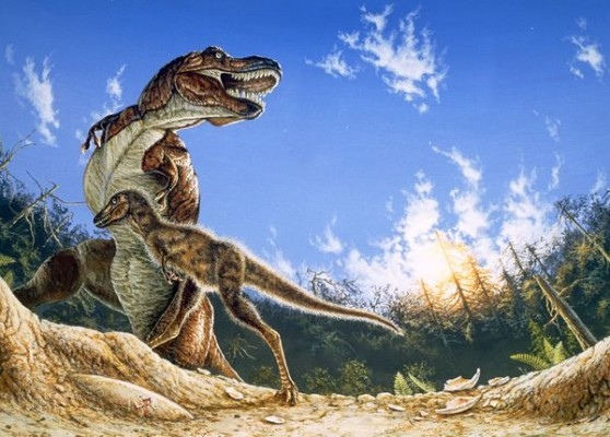 My T-rex is an Ostrich...
