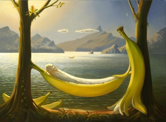 surealism paintings by vladimir kush 5 600x442 542x400 A Metaphorical Voyage
