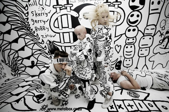0241 585x390 Die Antwoord is Zef Rap