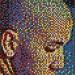 push pin mosaic5 75x75 Unordinary Portraits Of Ordinary People.