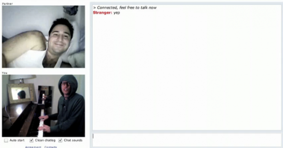 Screen shot 2010 03 29 at 2.44.15 AM 585x305 Monday Mood Ups: Chat Roulette Piano Improv