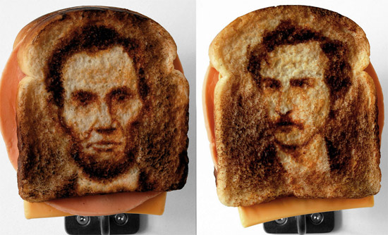 "lincoln toast art Hungry For Some Toasted ""Assassination Sandwiches"""
