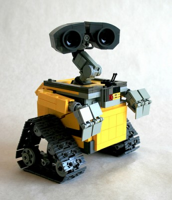 wall e 345x400 Angus MacLane The Lego Extraordinaire