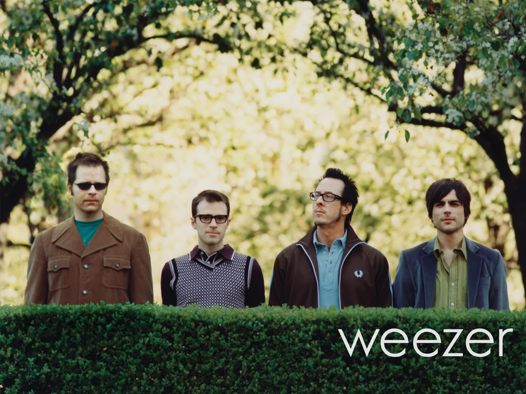 weezer Dedicating Spring