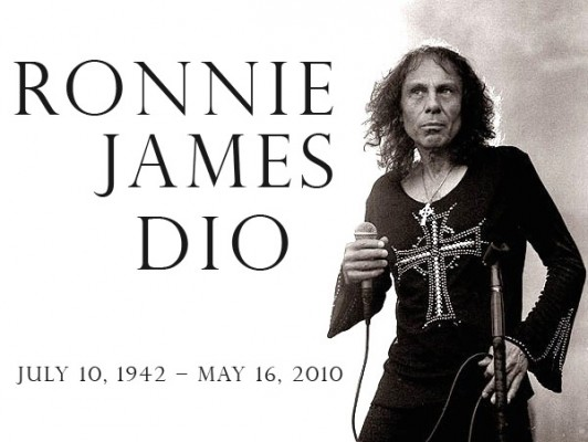 dioAT 532x400 Ronnie James Dio ( July 10, 1942 – May 16, 2010 )