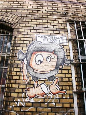 katiskaput 300x400 El Bocho  Berlin Street Artist