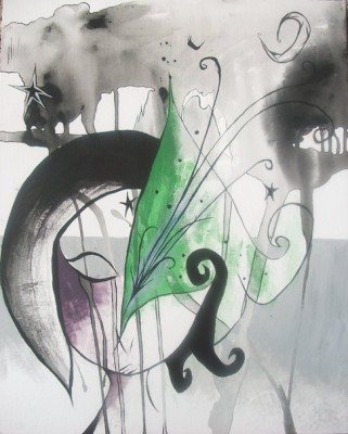 sarah westgate VyletStar acrylic on canvas 321x400 Sarah Westgate, Bella Bones