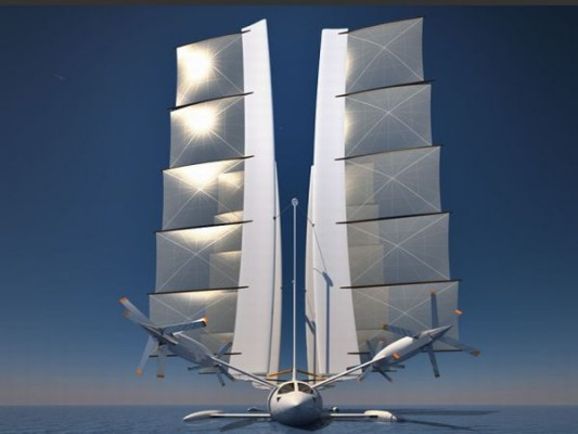 yelken octuri1 533x400 Yelken Octuris Flying Sailboat
