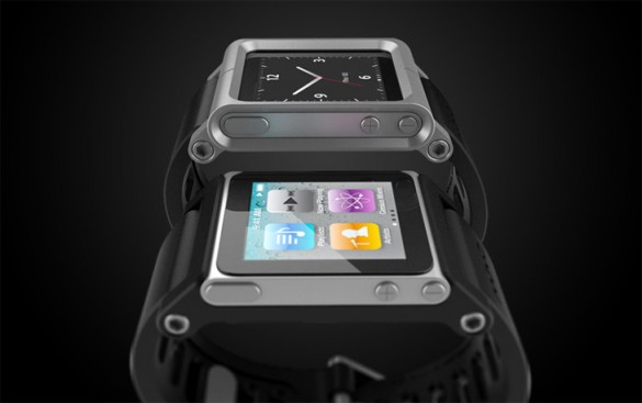 TikTok LunaTik1 585x367 TikTok and LunaTik iPod Nano Watch