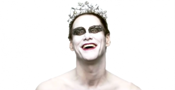 Screen shot 2011 01 31 at 1.52.25 AM 585x301 Monday Mood Ups: Jim Carrey as Black Swan