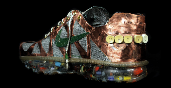 Screen shot 2011 03 15 at 12.45.11 AM 585x302 Junk Art Nike Air Max+ 2011 by Gabriel Dishaw